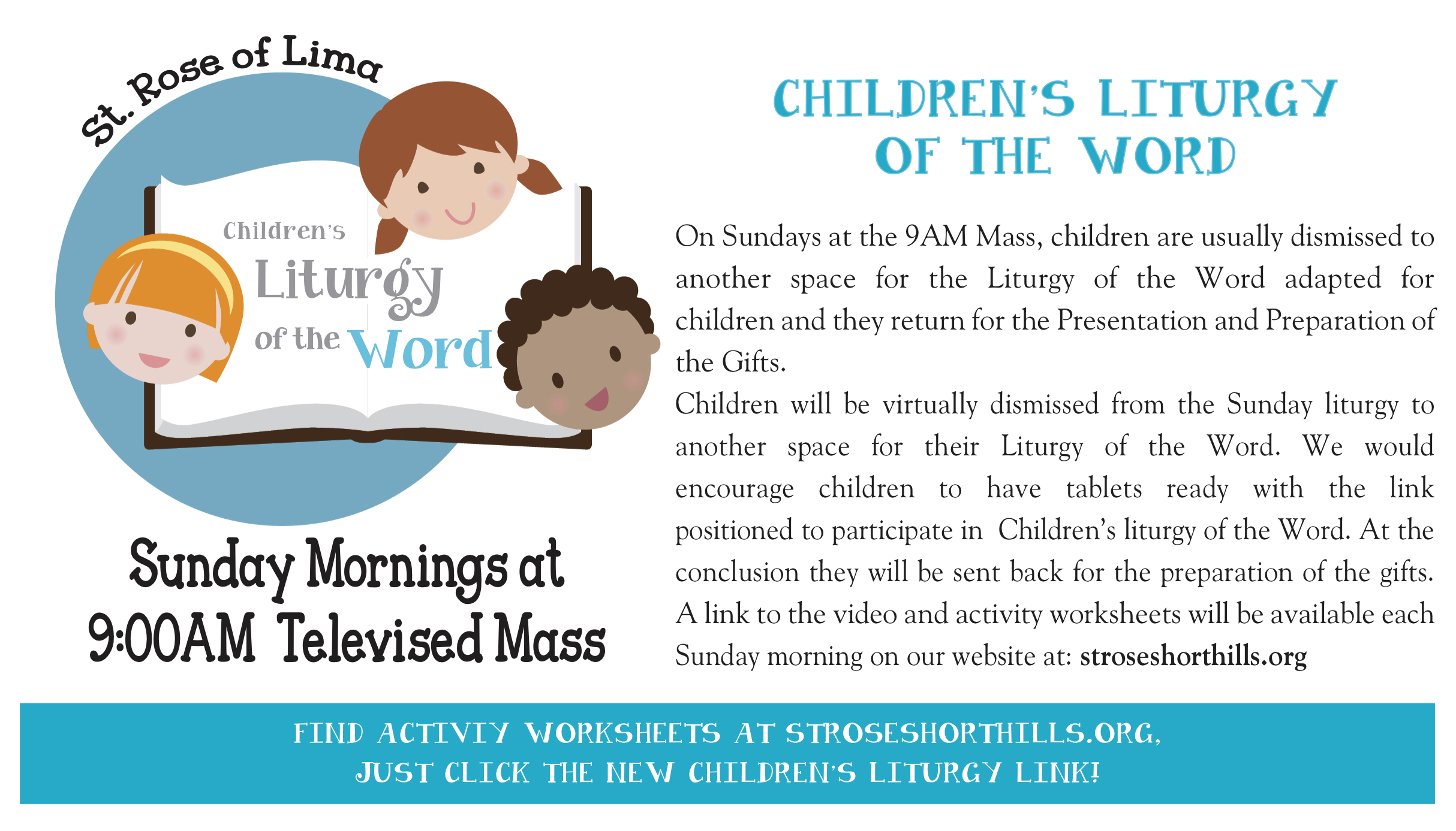 Childrens Liturgy New Ad