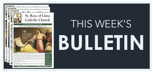 This Weeks Bulletin Green